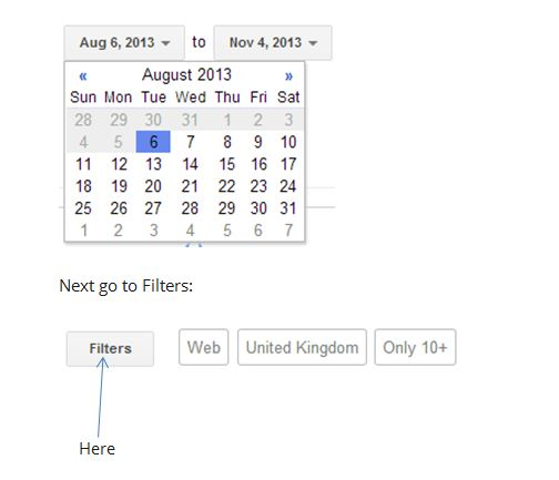 how to search date range gmail
