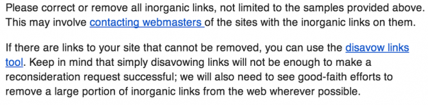 Inorganic links