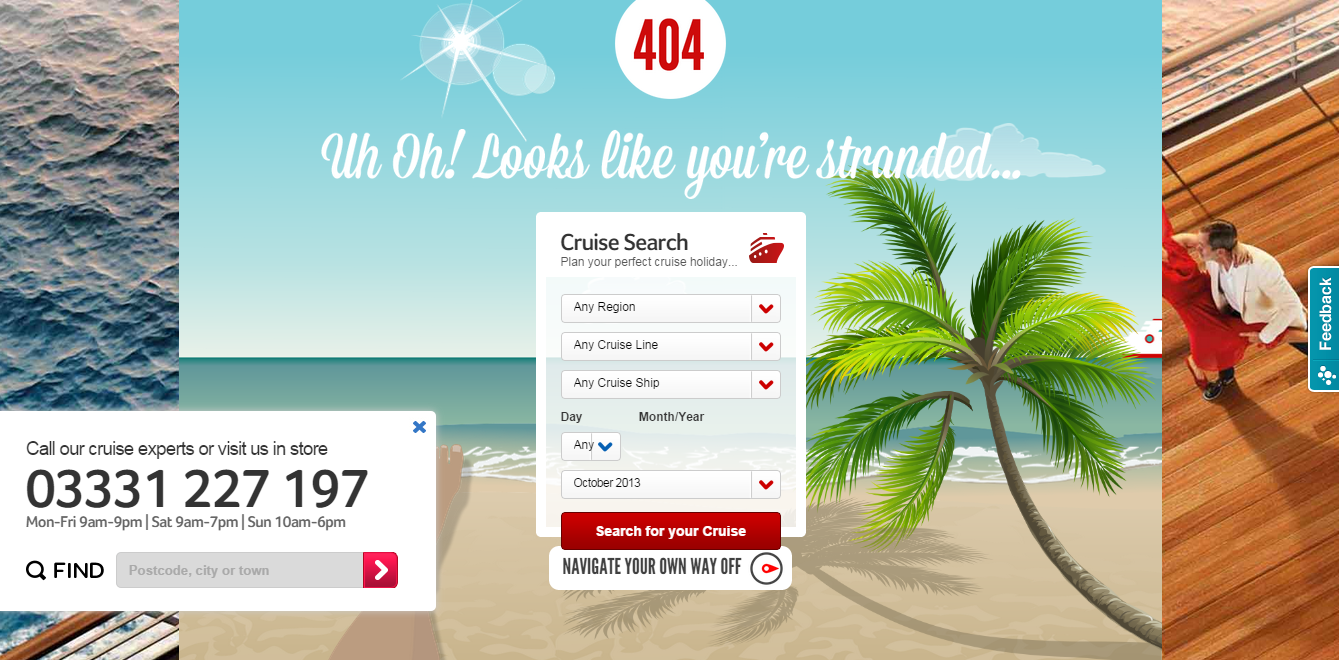 Virgin Cruises 404