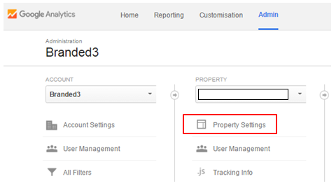 Setting up search console