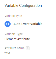 Event Variable Google Tag Manager