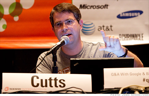 Matt Cutts breaking some news. Not in a press release.